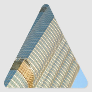 Burj Khalifa Dubai Calcomanía De Triangulo Personalizadas