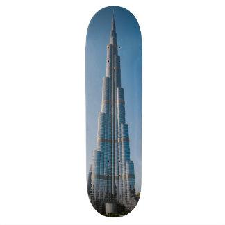 Burj Khalifa, Dubai Tabla De Patinar