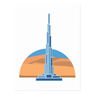 Burj Khalifa Dubai Tarjeta Postal