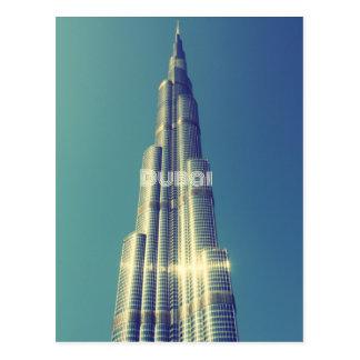 Burj Khalifa, Dubai Tarjetas Postales