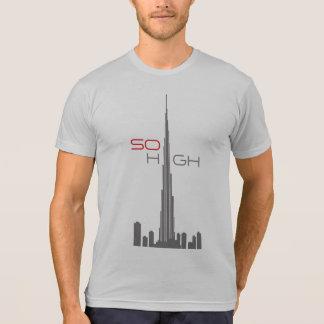 Burj Khalifa Dubai Tower Tee Shirts