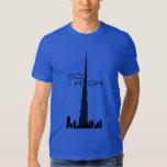 Burj Khalifa Dubai Tower Tshirts