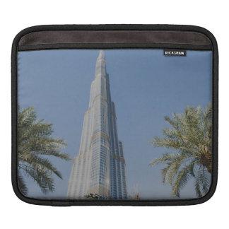 Burj Khalifa, Dubai y palmeras Funda Para iPads