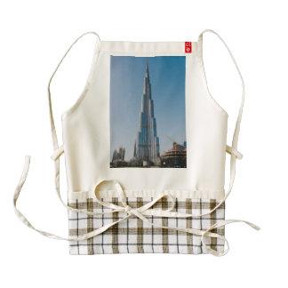 Burj Khalifa,Dubai Zazzle HEART Apron