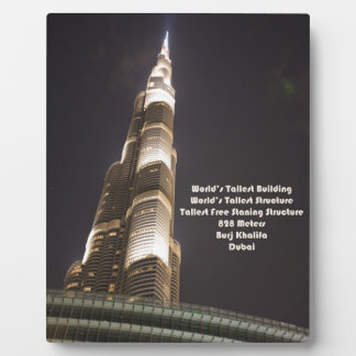 Burj Khalifa, el edificio más alto del mundo, Duba Placas De Madera