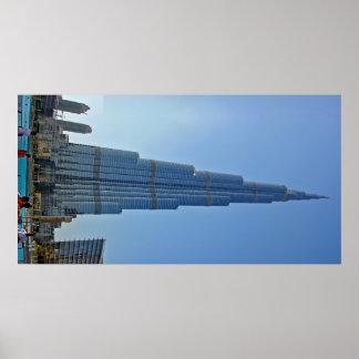 Burj Khalifa - Photographic Poster