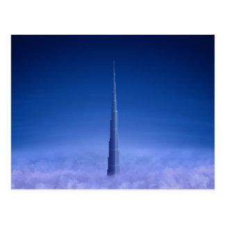 Burj Khalifa Postcard