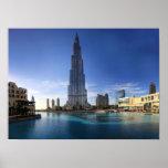 Burj Khalifa, poster de Dubai