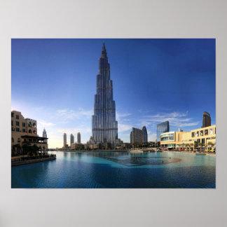 Burj Khalifa, poster de Dubai Póster