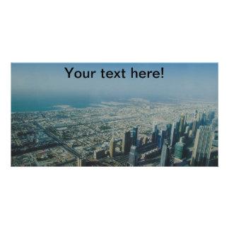 Burj Khalifa view, Dubai Card