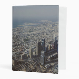 Burj Khalifa view, Dubai Mini Binder