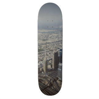 Burj Khalifa view, Dubai Skateboard Deck