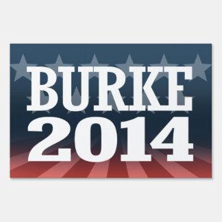 BURKE 2014 SIGN