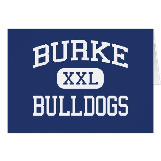 Burke - Bulldogs - High - Charleston Greeting Cards