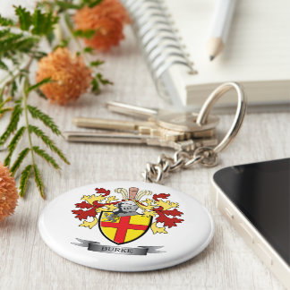 Burke Coat of Arms Keychain