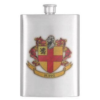 Burke crest flask