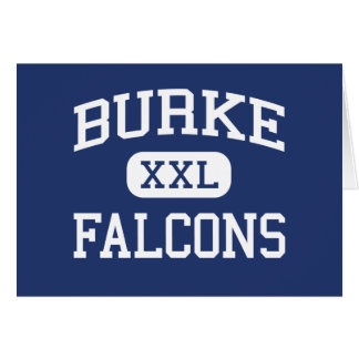 Burke Falcons Middle Pico Rivera California Card
