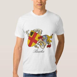 Burke Family Crest T Shirts