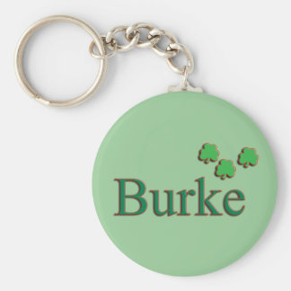 Burke Family Keychain