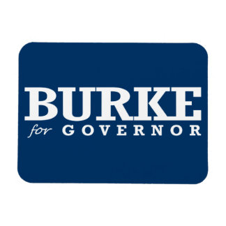 BURKE FOR GOVERNOR 2014 VINYL MAGNET