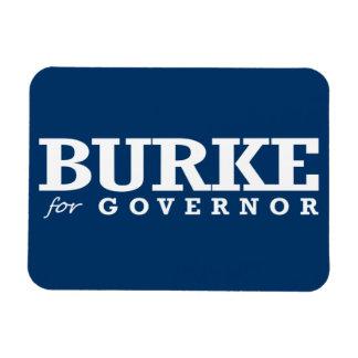 BURKE FOR GOVERNOR 2014 RECTANGULAR PHOTO MAGNET