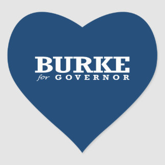 BURKE FOR GOVERNOR 2014 STICKER