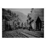 BURKE IDAHO GHOST TOWN POSTER