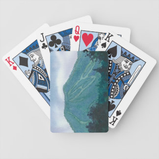 Burke Mountain East Burke Vermont Playing Cards