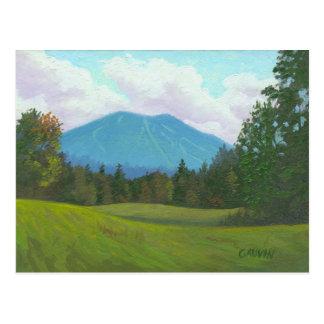 Burke Mountain, East Burke vermont Postcard