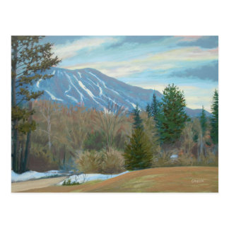 Burke Mountain in East Burke Vermont Postcard