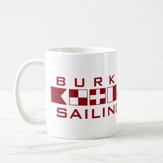 Burke Sailing Nautical Flags Mug