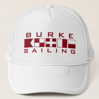 Burke Sailing Nautical Flags Trucker Hat