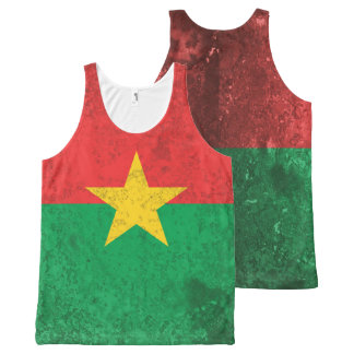 Burkina Faso All-Over-Print Tank Top