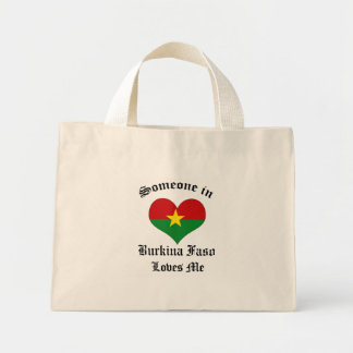 Burkina Faso Canvas Bag