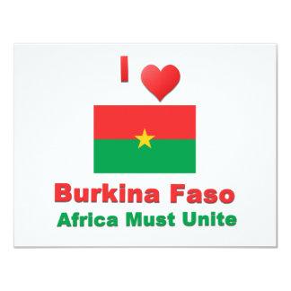 Burkina Faso Card