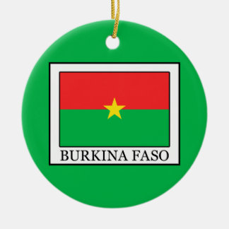 Burkina Faso Ceramic Ornament