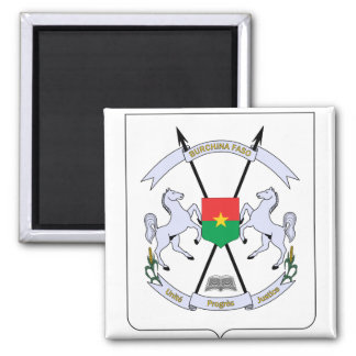 Burkina Faso Coat of arms BF Magnet