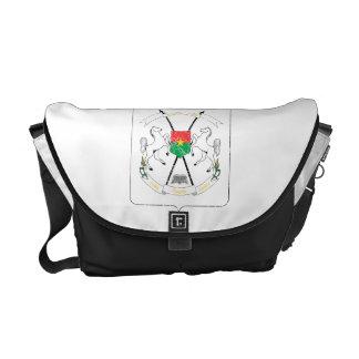 Burkina Faso Coat Of Arms Messenger Bags