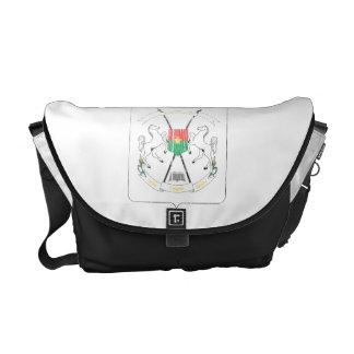 Burkina Faso Coat Of Arms Courier Bag
