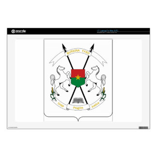 Burkina Faso Coat of Arms Decals For Laptops