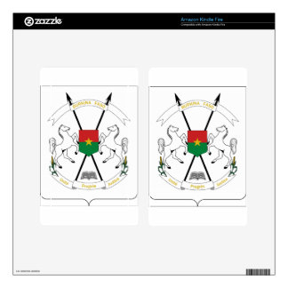 Burkina Faso Coat of Arms Decal For Kindle Fire