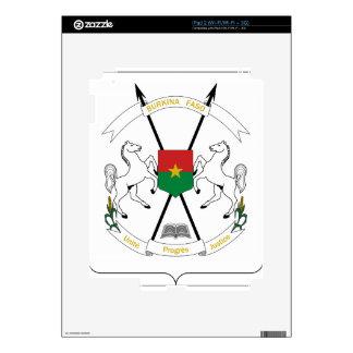 Burkina Faso Coat of Arms iPad 2 Skins
