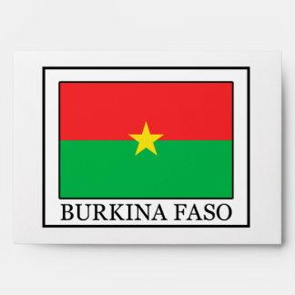 Burkina Faso Envelope