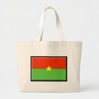 Burkina Faso Flag Canvas Bags