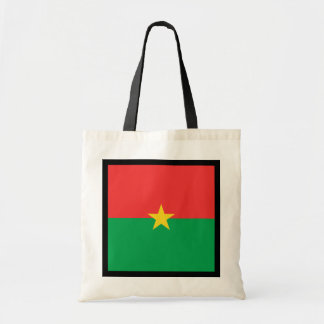 Burkina Faso Flag Bag