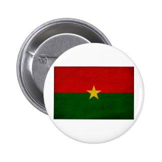 Burkina Faso Flag 2 Inch Round Button