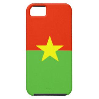 Burkina Faso Flag iPhone 5 Covers