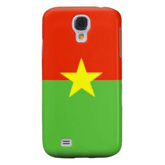 Burkina Faso Flag Galaxy S4 Cases