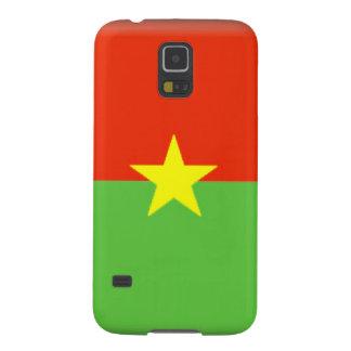 Burkina Faso Flag Galaxy S5 Covers