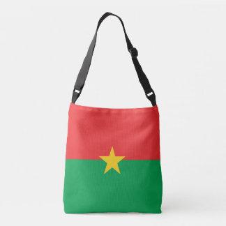 Burkina Faso Flag Crossbody Bag